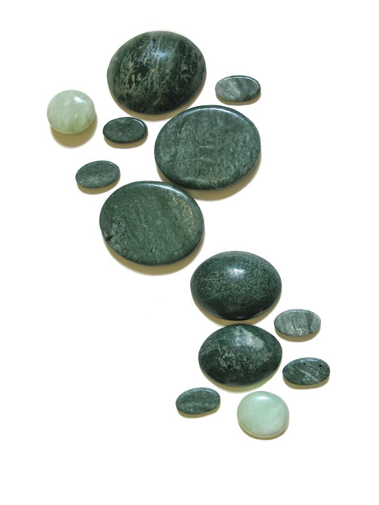 lichaamsmassage vrijstaand jade stenen